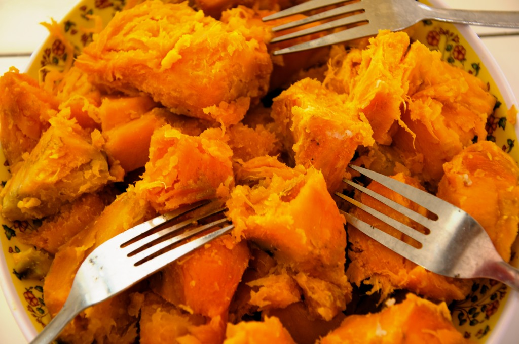 Nutritious... Just one cup of sweet potato variety Hohrae 3 meets the daily requirements for Vitamin A.