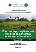 Effects of importing maize & rice