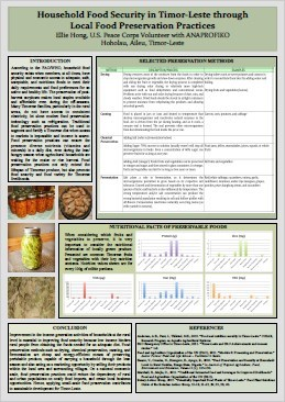 E18. Local food preservation practices