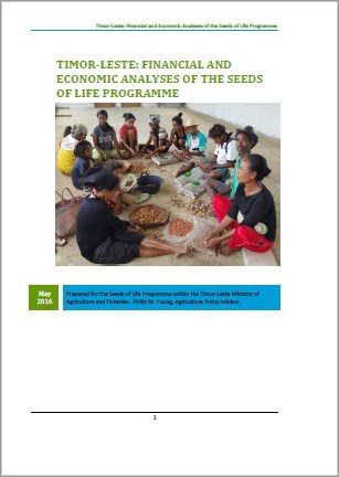 Screenshot Fin & Econ analyses of SoL report